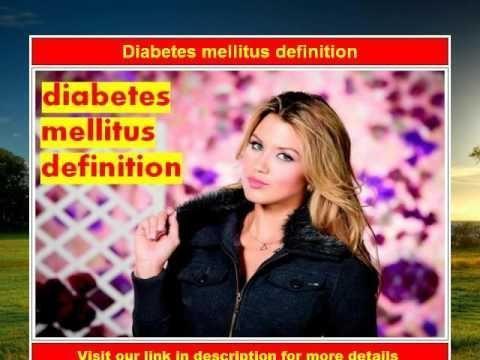 Who Definition Of Diabetes Mellitus