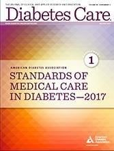 Ada Releases 2017 Standards Of Medical Care In Diabetes