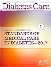 2017 Standards Of Medical Care In Diabetes