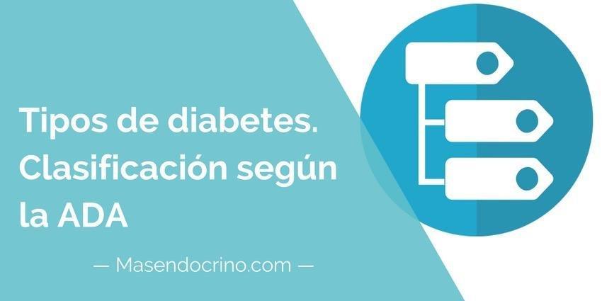 Tipos De Diabetes, Definicin Y Clasificacin