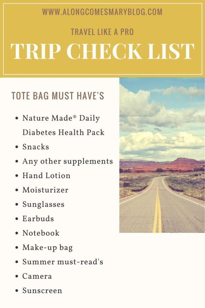 Travel Like a Pro with Nature Made Daily Diabetes Health Pack!