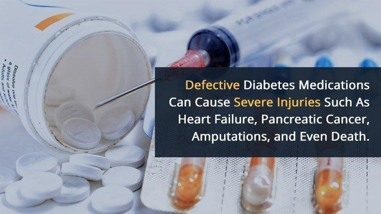Need A Diabetes Medication Lawyer? Heart Attack, Cancer, Amputations