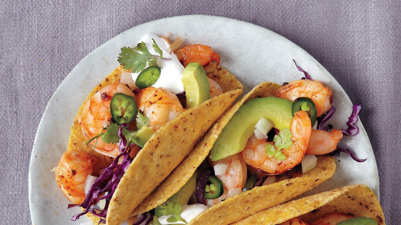 Diabetic Shrimp Tacos