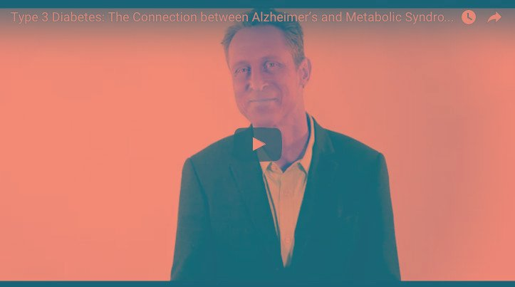 Alzheimer's = Type 3 Diabetes