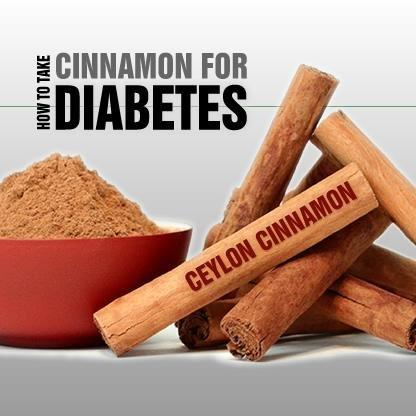 Cinnamon Diabetes Recipes