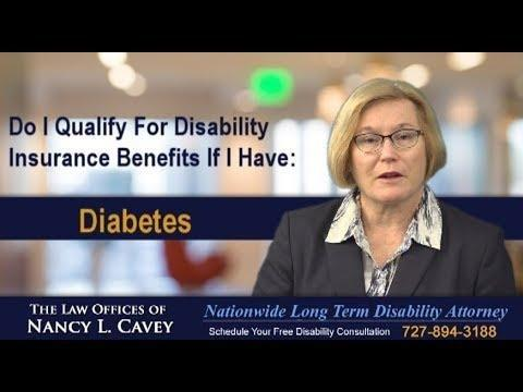 Can You Claim Disability For Diabetes?