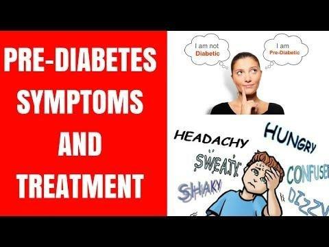 Pre Diabetes Symptoms