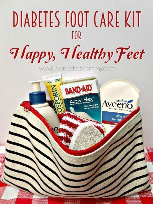 Diabetes Foot Care Kit For Happy, Healthy Feet