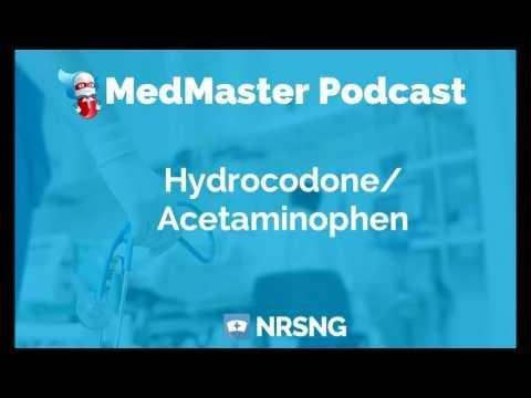 High-alert Medications - Hydrocodone With Acetaminophen