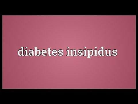 What Are The Causes Of Diabetes Insipidus?