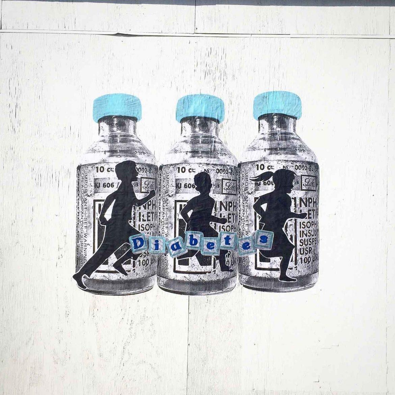 Street Artist Raises Diabetes Awareness Through His Art