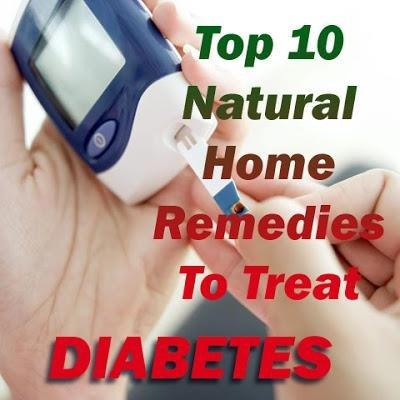 Top 10 Home Remedies To Treat Diabetes