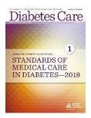 Standards Of Medical Care In Diabetes—2018