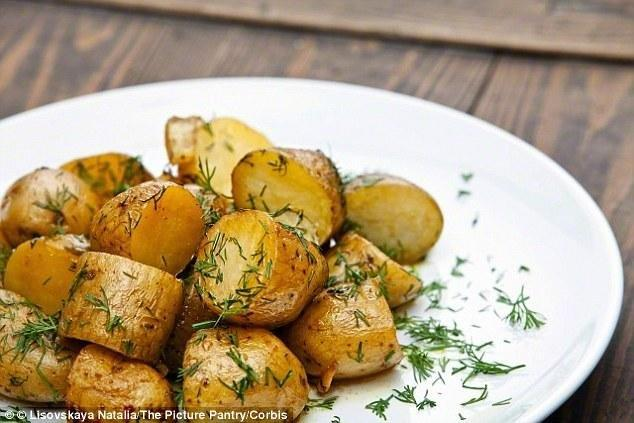 Potatoes Aren't Just Bad For The Waistline - They Could Also Trigger Diabetes: Daily Serving 'raises The Risk By 33%