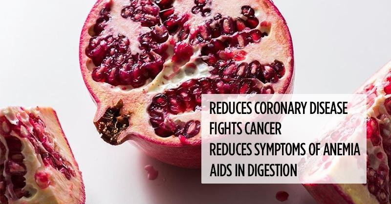 What Happens to Stomach Problems, Diabetes, and Free Radicals When You Use Pomegranate Like This
