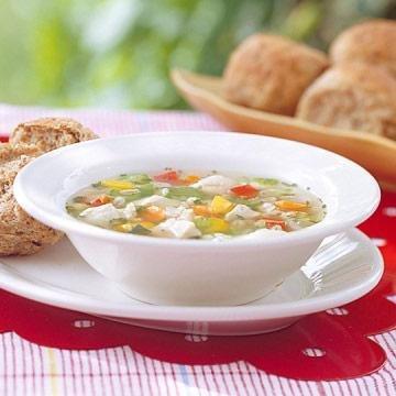 Barley-vegetable Chicken Soup