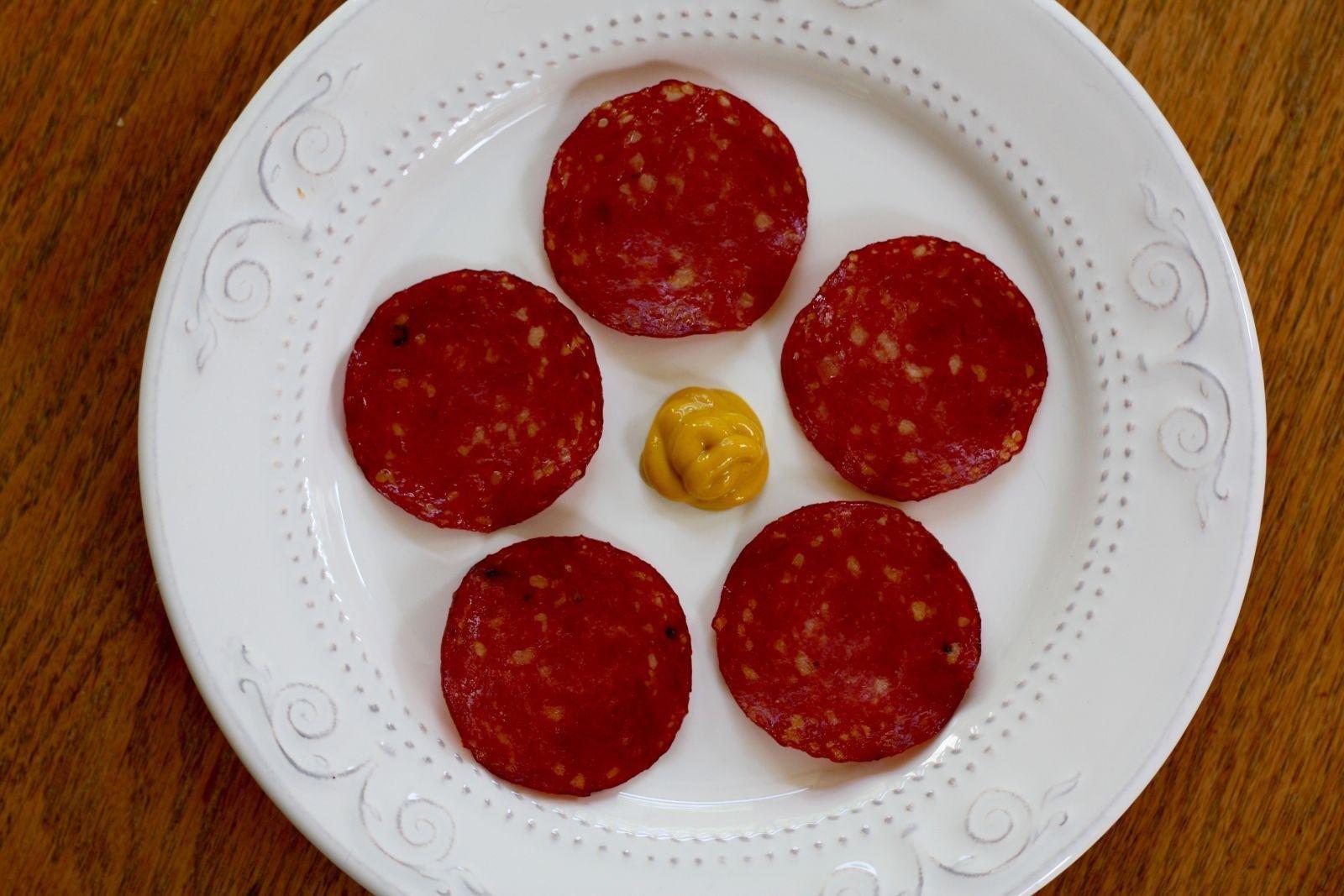 Salami Jerky Snack | Diatribe