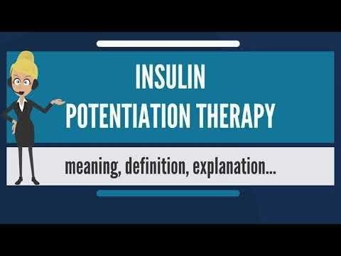 Insulin Potentiation Therapy