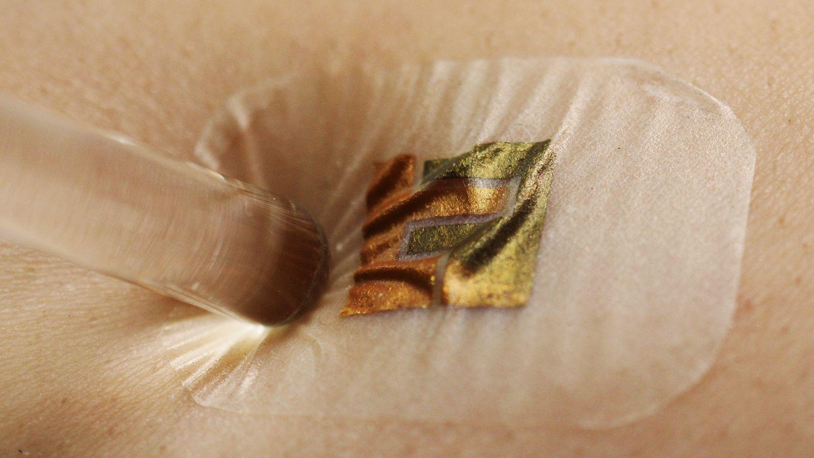 This Stick-on Biosensor Monitors Blood Sugar—no Needle Necessary