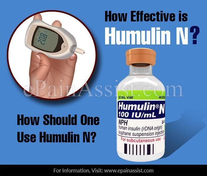 Humulin N Side Effects