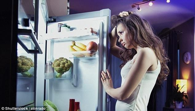 Why eating late at night will do more than just make you gain weight - it also raises risk of diabetes and heart disease, study reveals