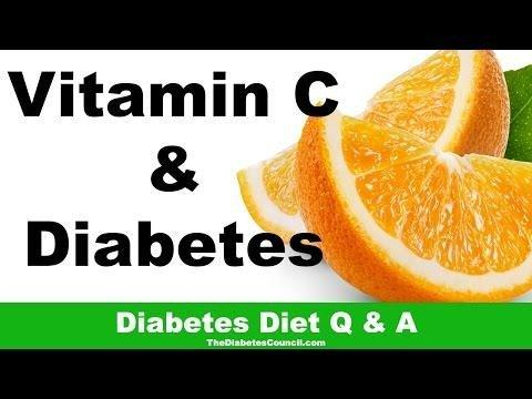 Vitamin C Diabetes Cure