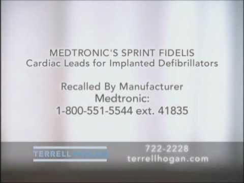 Fda Declares Class I Recall For 48 Medtronic Defibrillators