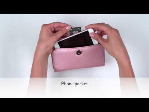 Tina Diabetes Mini Crossbody Pink Frost Myabetic Products