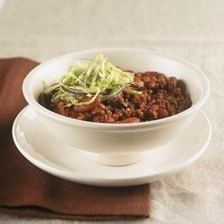 Diabetic Ground Beef Chili