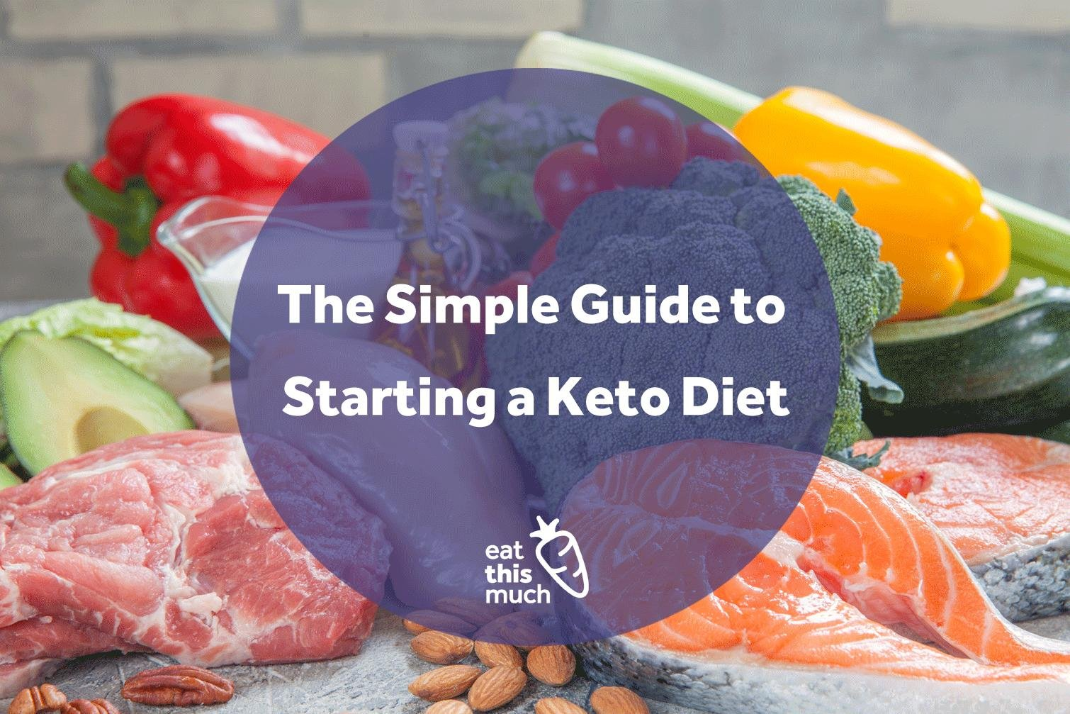 A Simple Guide To Starting A Ketogenic Diet