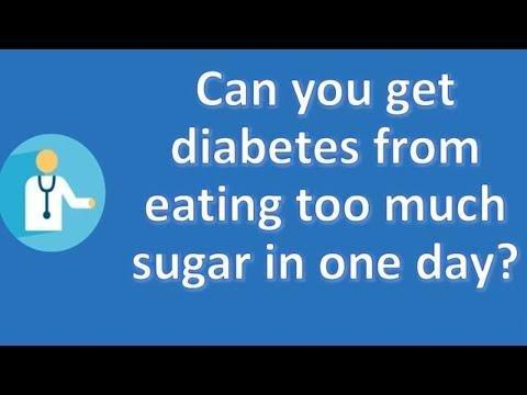 Can Eating Too Much Sugar Cause Diabetes