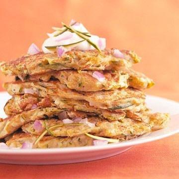 Zucchini Pancakes | Diabetic Living Online