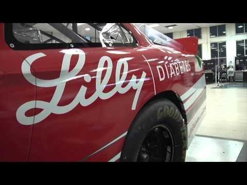 Join Ryan Reed For The Lilly Diabetes #driveyourhealth Track Walk
