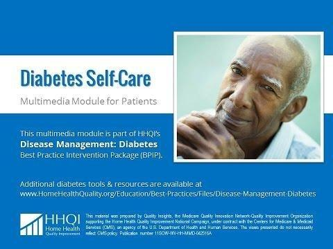 Diabetes Self Management Patient Education Materials