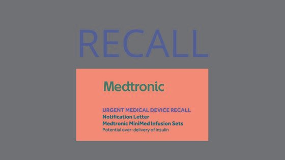 Medtronic Recall Infusion Sets