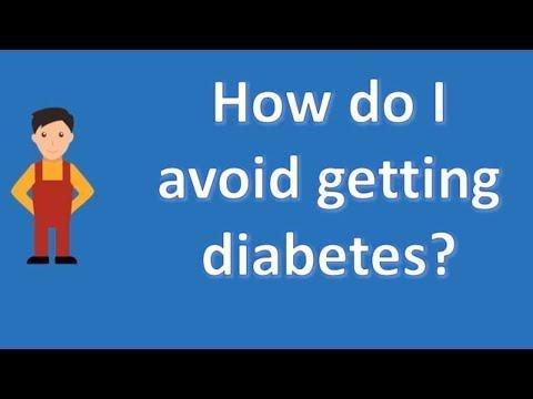 How Can I Reduce My Chances Of Getting Diabetes?