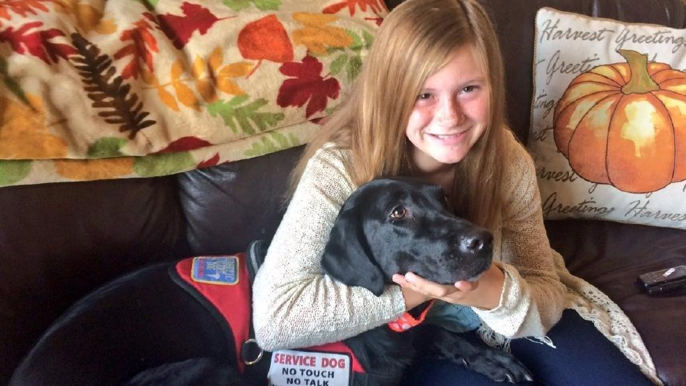 Dog Helps Girl With Diabetes