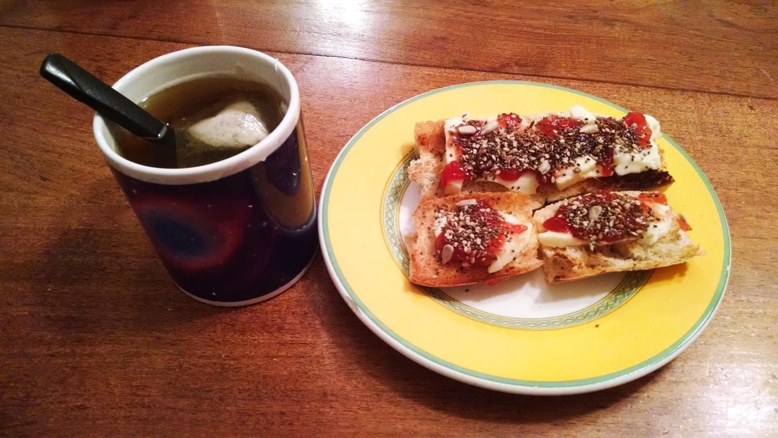 Desayuno/merienda Para Diabticos