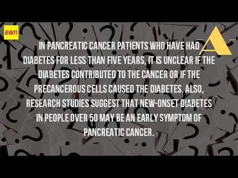 Diabetes Type 2 And Pancreatic Cancer