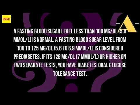 What Is Normal Non Fasting Glucose?