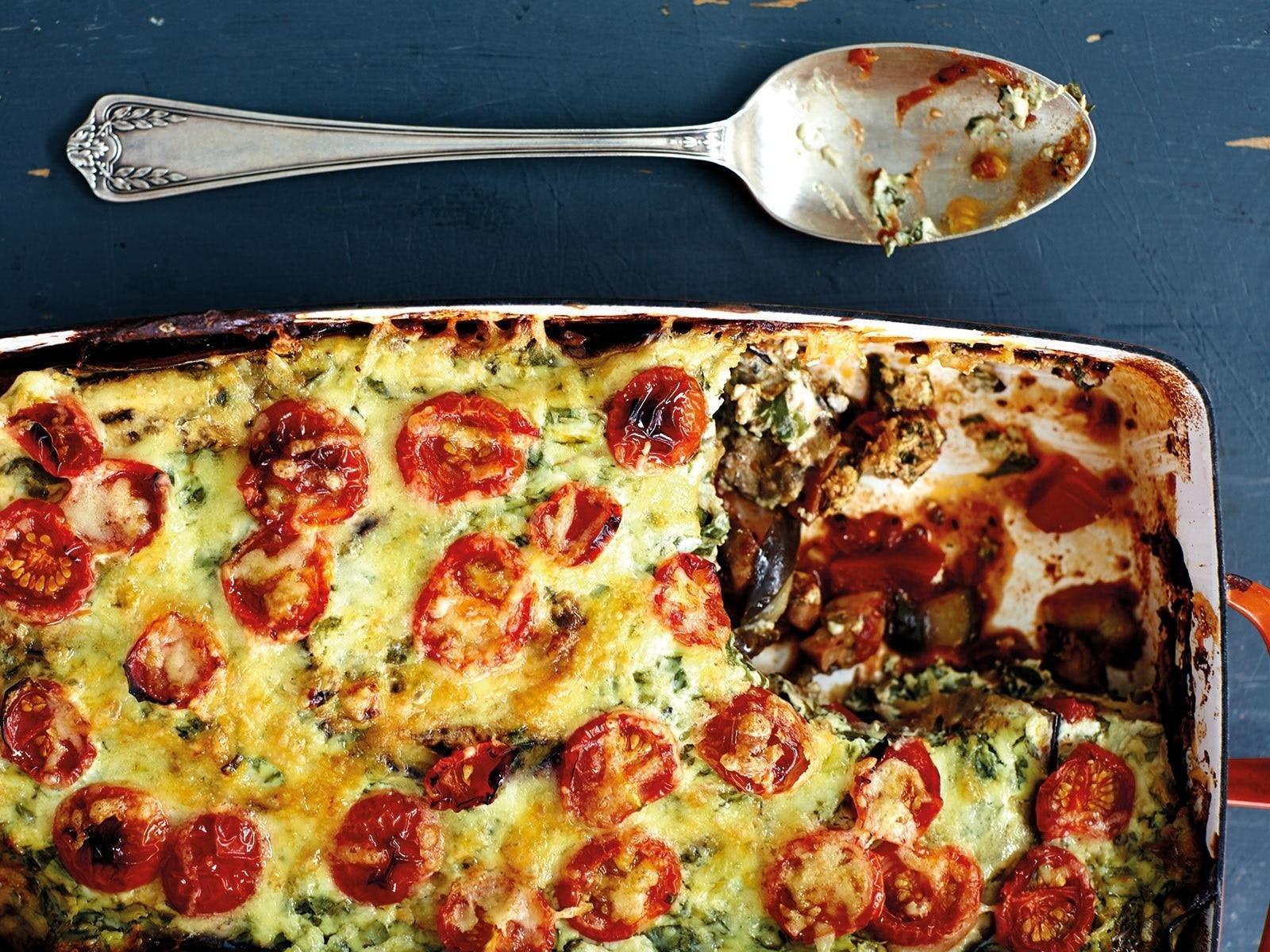 Skinny Eggplant Lasagne
