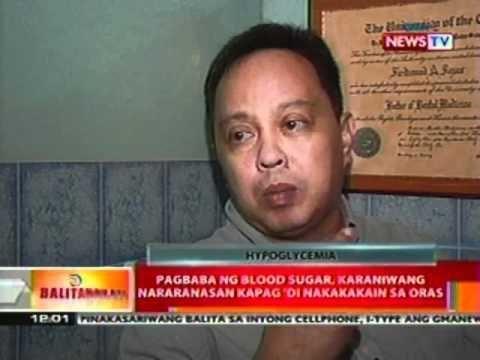 Paano Bumaba Ang Blood Sugar