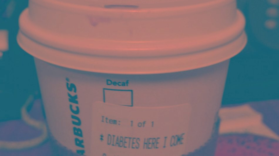 Starbucks customer says his mocha was labeled 'Diabetes here I come'