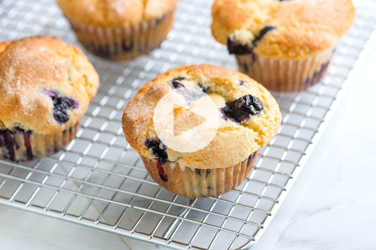 Quick And Easy Blueberry Muffins Recipe