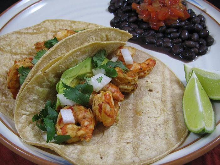 Diabetic Shrimp Tacos