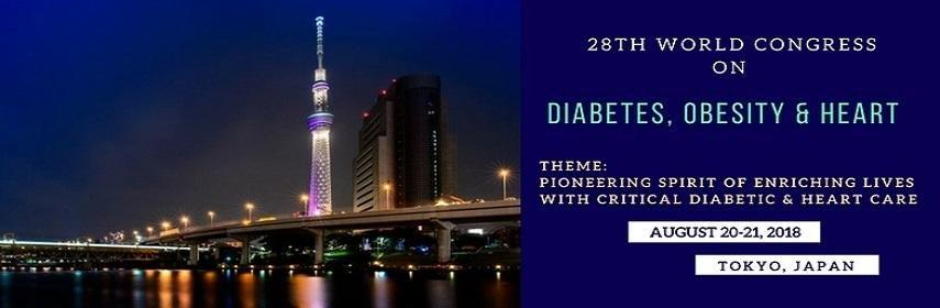 Diabetes Conferences | Heart Conferences |obesity Conferences | Endocrinology Conferences | Diabetes Congress |diabetes Events | Heart Congress| Heart Events | Diabetes Meetings| 2018 | Europe Usa Asia Pacific Middle East