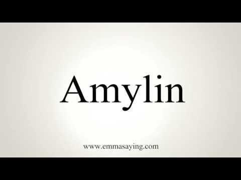 Amylin Pronunciation