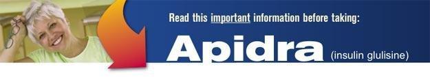 High-alert Medications - Apidra (insulin Glulisine)