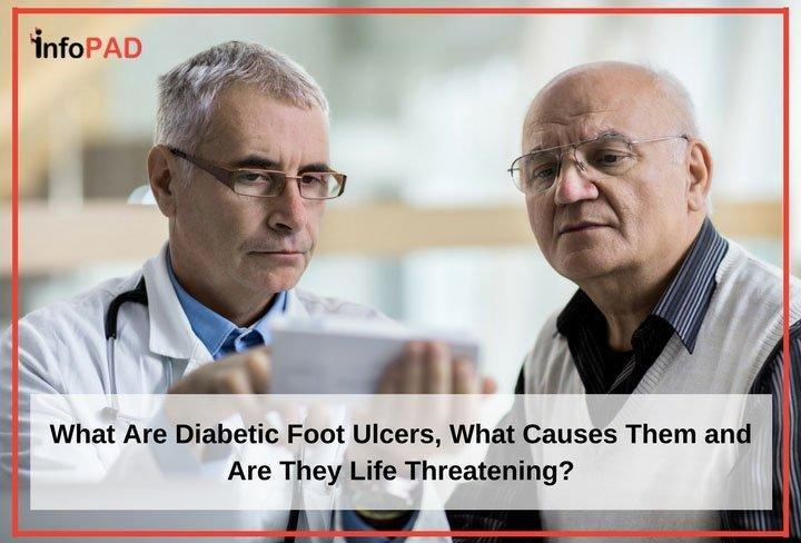 What Are Diabetic Foot Ulcers, What Causes Them And Are They Life Threatening?