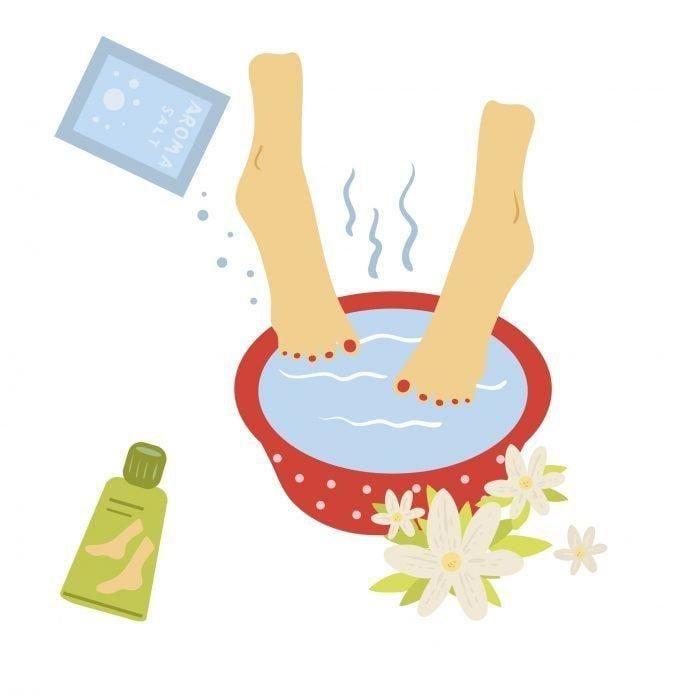 Diabetic Foot Bath
